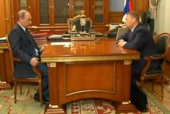 Глава правительства Марий Эл встретился с Владимиром Путиным