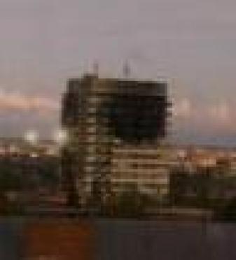 В столице Марий Эл выгорел многоэтажный дом