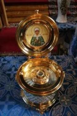 В Марий Эл прибывает ковчег с частичкой мощей святой Матроны Московской