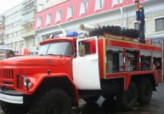 В Марий Эл районные автопарки пополняются пожарной техникой