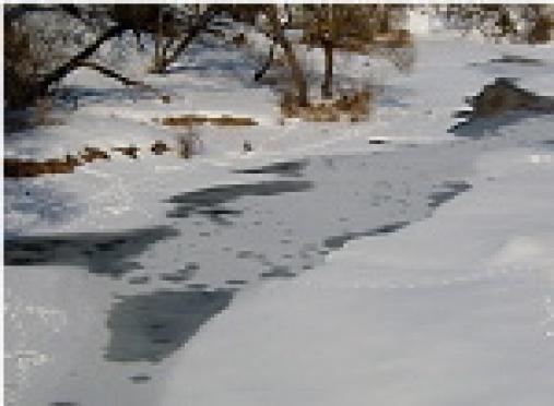 Мартовский лед на водоемах Марий Эл напоминает «скрытый капкан»