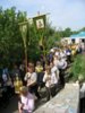 В Республике Марий Эл проходит крестное шествие с Седмиезерной иконой Божьей Матери, привезённой из Петъяльского храма