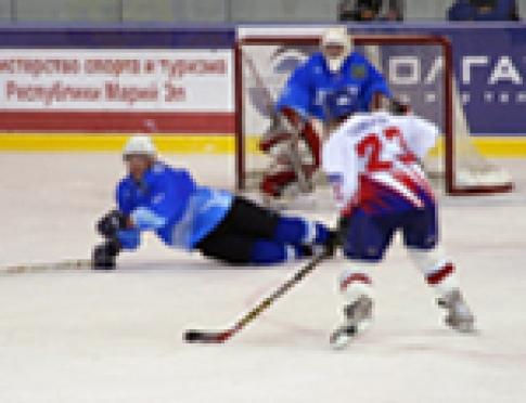 Хоккеисты Марий Эл потерпели поражение в Киеве