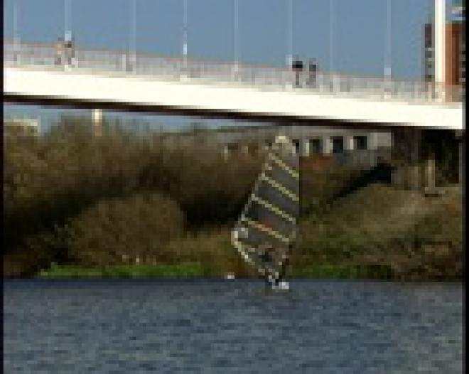 Виндсерфинг на реке Малая Кокшага