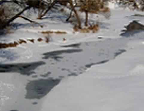 Ледовое покрытие водоемов Марий Эл опасно для прохождения автотранспорта