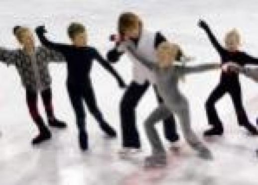 Юным фигуристам Марий Эл покажут мастер-класс именитые спортсмены России