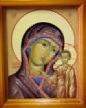 Осужденные исправительных колоний Марий Эл рисуют святые лики