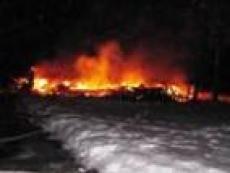 В Марий Эл сгорела сельская церковь