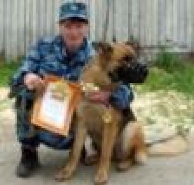 Лучшие служебные собаки служат в НВК и ИК №6 (Марий Эл)