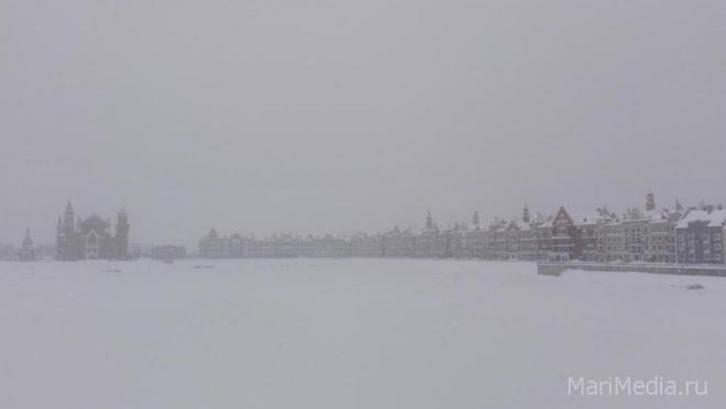 Снегопад обрушится на Марий Эл ночью