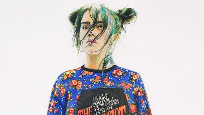 Рисунок школьницы из Пермского края попал на обложку американского Vogue