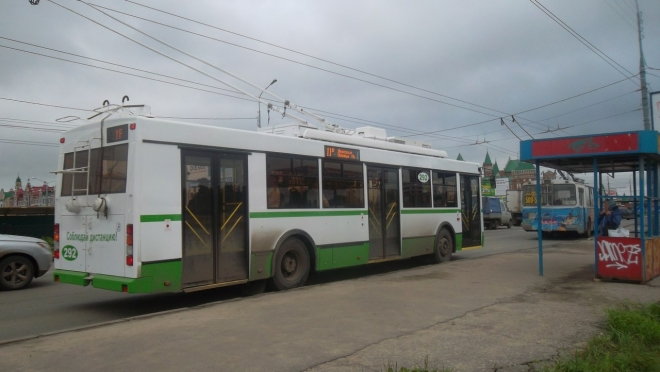 Крупнейший в России завод троллейбусов «Тролза» находится в простое