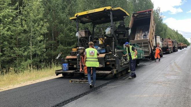 Участок дороги «Звенигово – Помары» отремонтируют и сдадут в сентябре