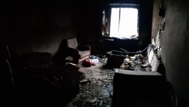 Жителей йошкар-олинской многоэтажки разбудил ночной пожар