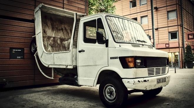 В Йошкар-Оле водителя зажал собственный грузовик