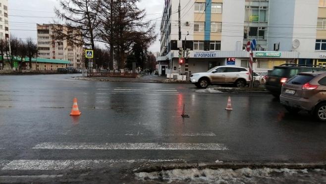 В Йошкар-Оле двух женщин сбили на пешеходных переходах