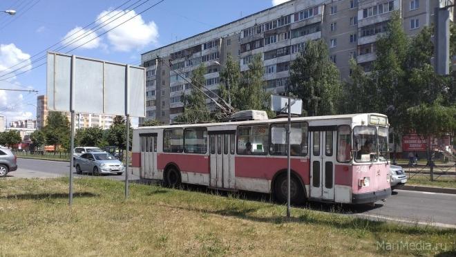 В субботу изменится схема движения троллейбусов