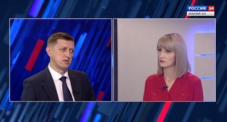 Россия 24. Интервью 23 08 2019