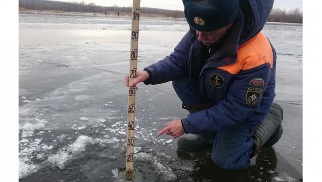 На ледяное покрытие рек Марий Эл снова стало опасно выходить