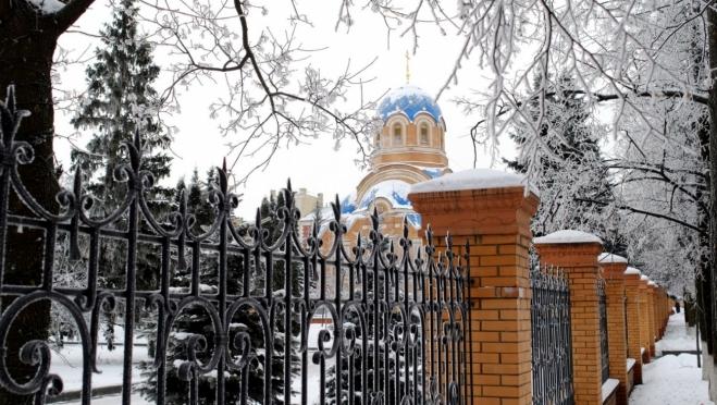 До конца декабря частица мощей святой Матроны будет находиться в Успенском храме
