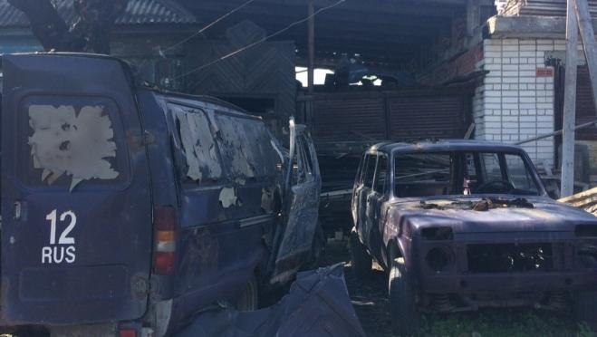 В Козьмодемьянске в ГАЗели взорвался газовый баллон — пострадали 3 машины