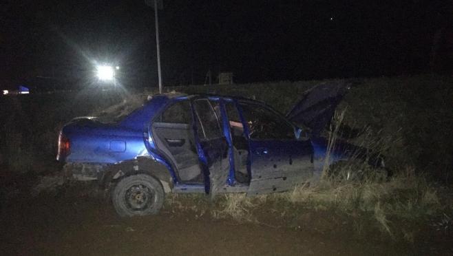 В Медведевском районе произошло столкновение машин