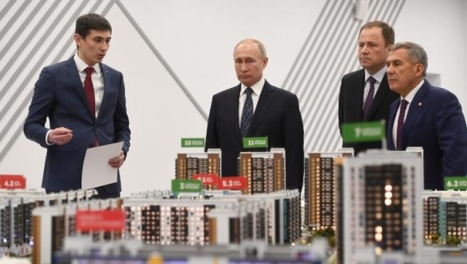 Глава Татарстана дважды за день получил замечания от Владимира Путина