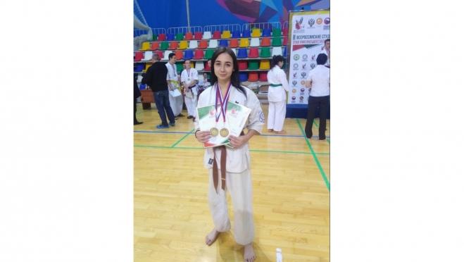 Юлиана Соколова завоевала «золото» на студенческих играх боевых искусств «Этап ПФО»