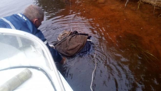 На Ветлуге рыбаки зацепили удочками тело утопленника 18+