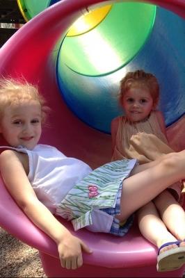 Летняя игровая программа на детских площадках города