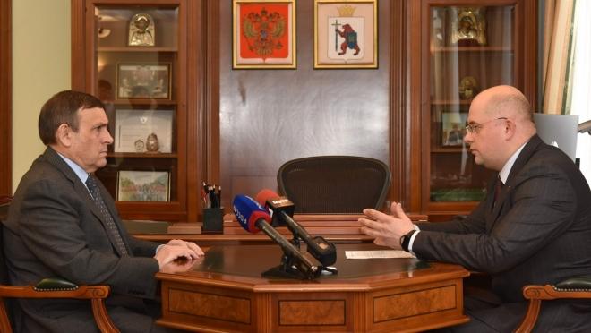 Александр Евстифеев встретился с главой Минсельхоза