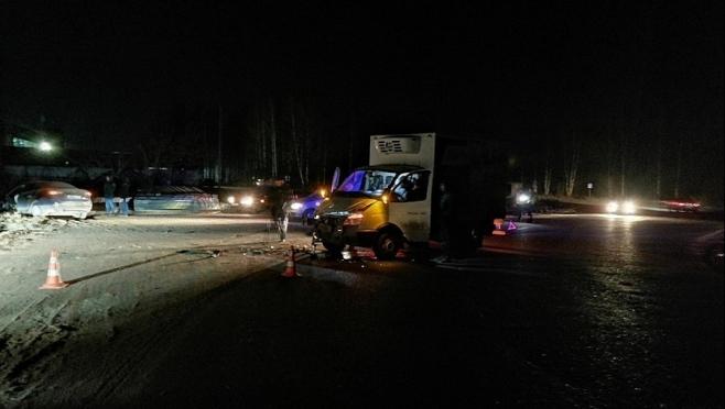 В Йошкар-Оле 6-летний пассажир грузовой «Газели» попал в ДТП