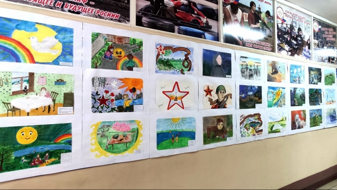 В Йошкар-Оле прошёл конкурс детского рисунка «Он вчера не вернулся из боя…»