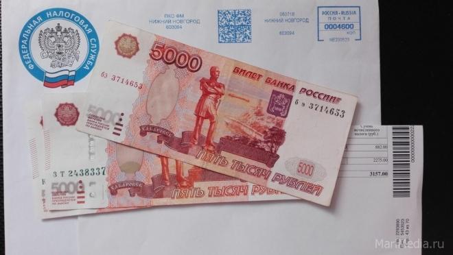 В Йошкар-Оле почти полмиллиона рублей налоговых платежей ушли в никуда