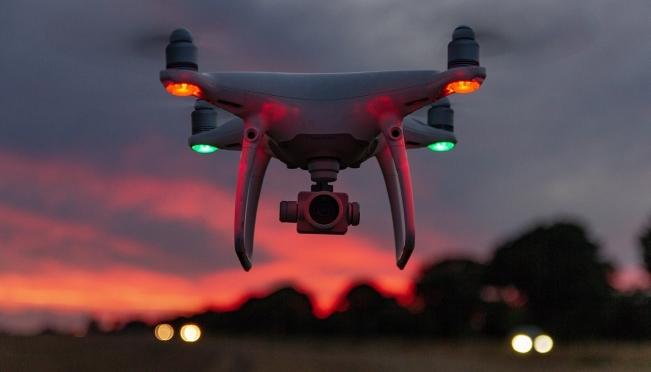 Дороги будут контролировать дроны