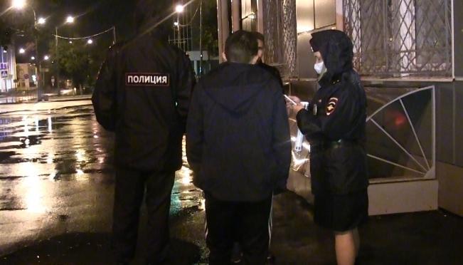В Марий Эл прошёл полицейский рейд «Дети в ночном городе»