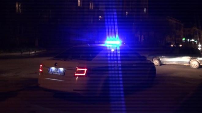 Группа молодых людей пыталась отбить пьяного водителя у сотрудников ДПС
