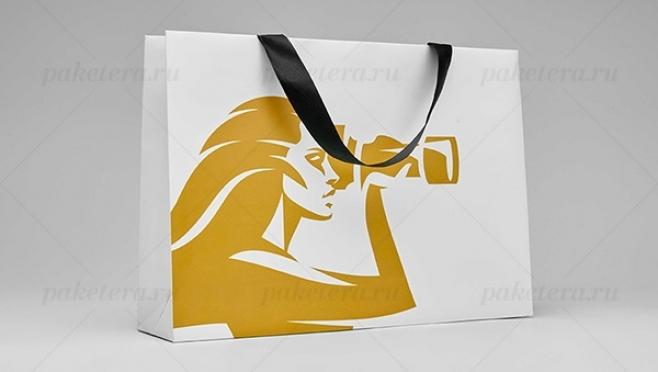 Бумажные крафт-пакеты с логотипом