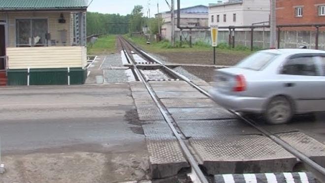 В Йошкар-Оле три ночи будут перекрывать железнодорожный переезд