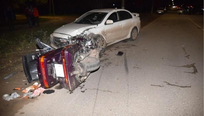 В Волжске насмерть разбился мотоциклист