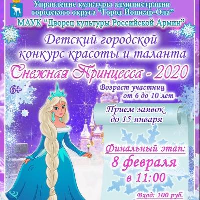 Снежная принцесса 2020