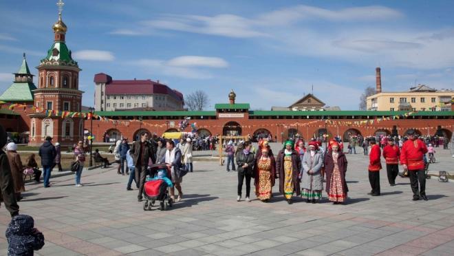 Горожан приглашают в «Царевококшайский Кремль» на ярмарку
