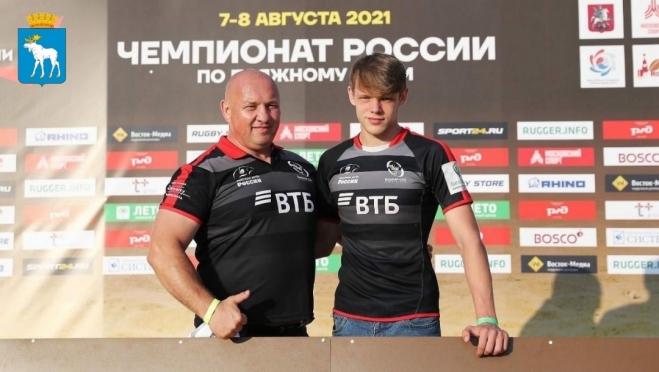 Йошкаролинец признан лучшим бомбардиром на Чемпионате России по пляжному регби