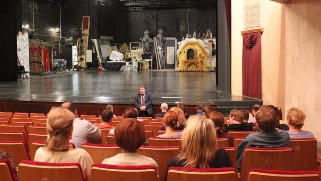 В Русском театре обсудили программы, реализуемые в Йошкар-Оле
