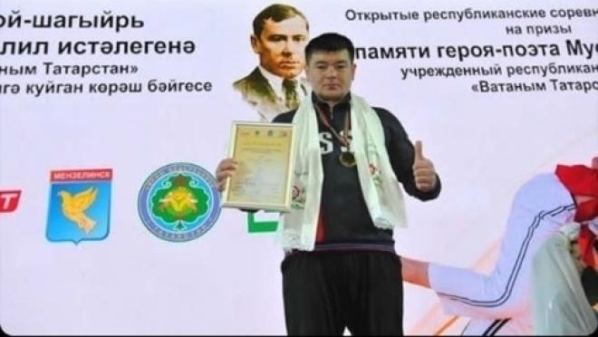 Муса Галлямов вновь поднялся на высшую ступень пьедестала почёта