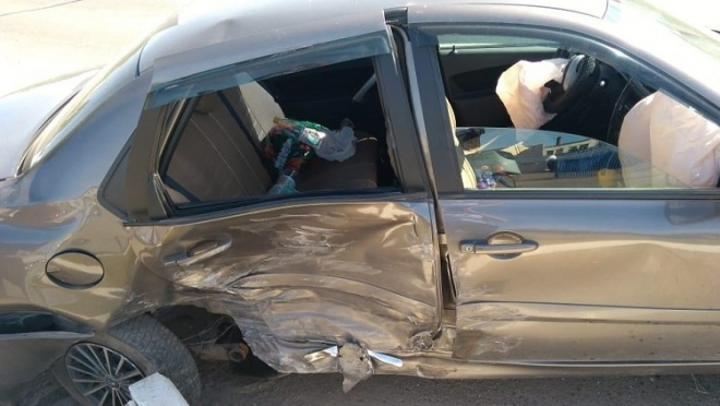В Волжске по вине водителя пострадали две пассажирки