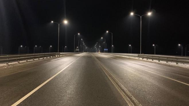 На четырёх участках автодороги А-295 в Марий Эл установят линии электроосвещения
