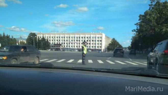 В Йошкар-Оле не работает светофор