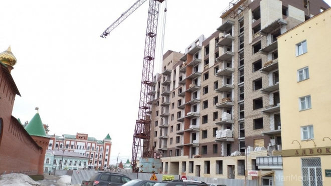 В Йошкар-Оле построено 205 тысяч квадратных метров жилья
