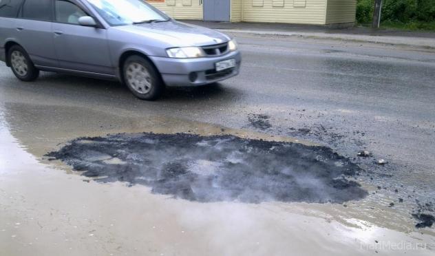 В Йошкар-Оле январские дожди смывают асфальт
